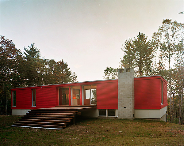 Moose Hill Geothermal House Utile Architecture Planning